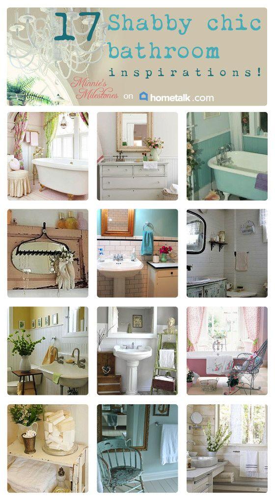 17 Shabby Chic Bathrooms
