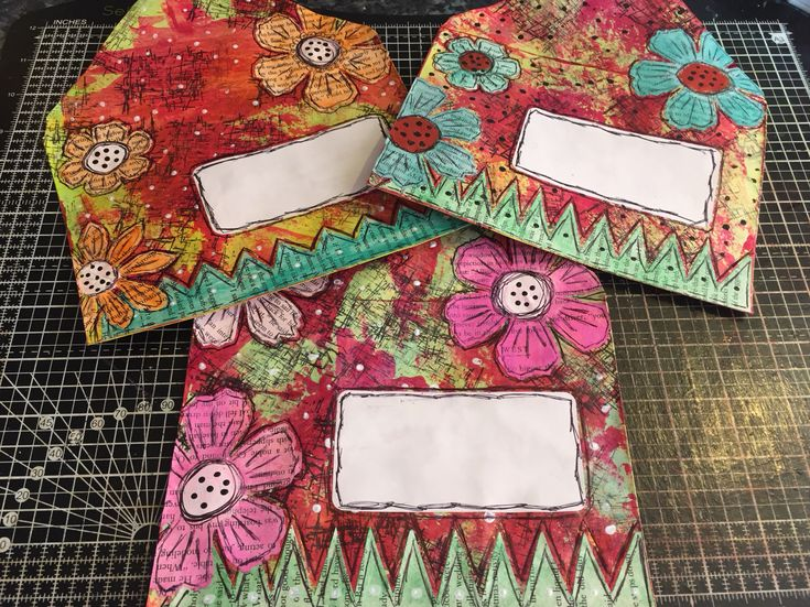 Mail art Envelopes I made, so much fun !