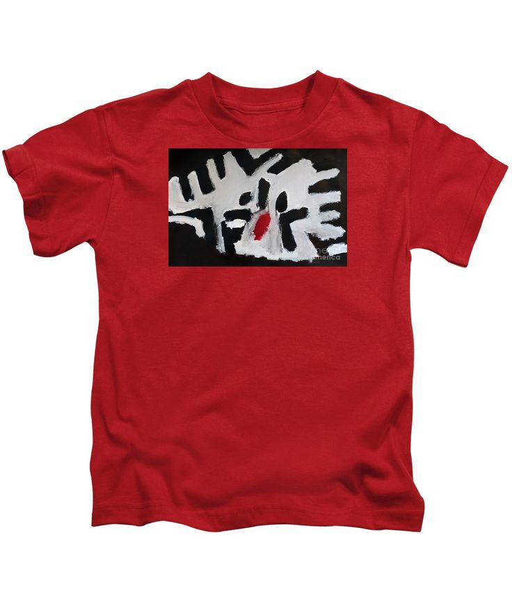 Patrick Francis Kids T-Shirt featuring the painting White Tiger 2014 by Patrick Francis