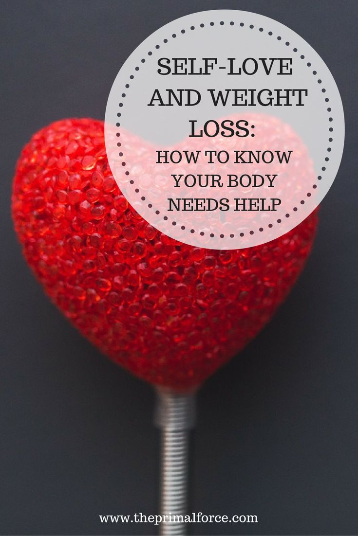 How to know if self-love is building you up or brining you down? Learn more about self-love, weight loss, and how to choose which one you need