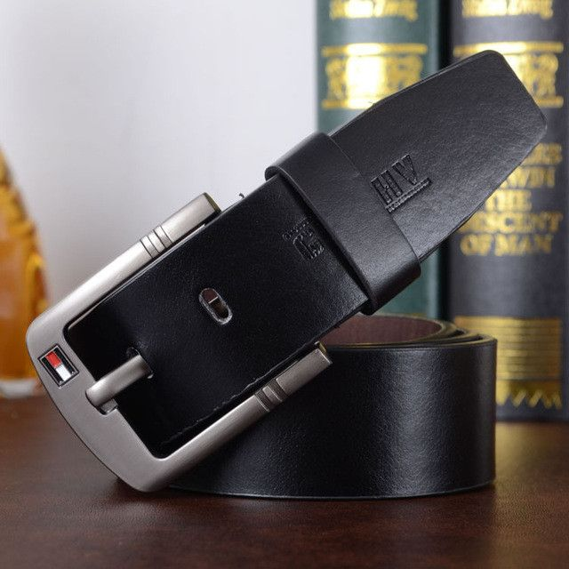 New hot mens belts PU leather designer Quality Famous pin buckle Jeans belt men Brand luxury male strap