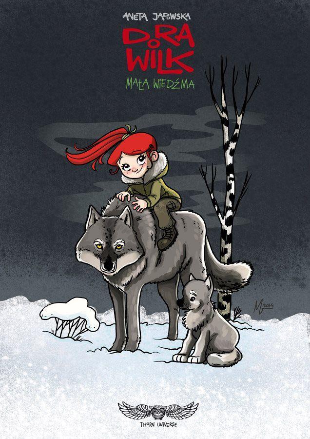 Magda Babińska, ilustracja do małej Dory Wilk