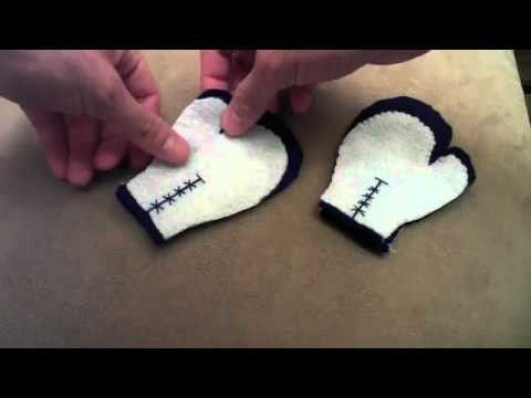 How to make Olympic Boxing Gloves plush tutorial