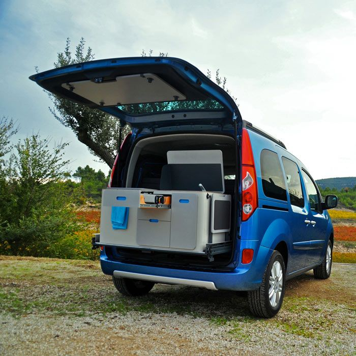 Renault Kangoo Camper TravelPack by Ovicuo. Really cool car. Read more at jebiga.com