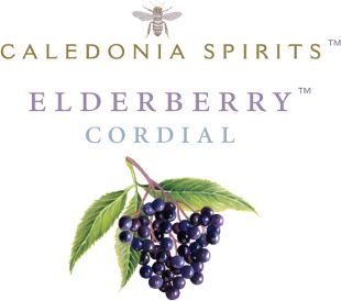 Elderberry Cordial Label