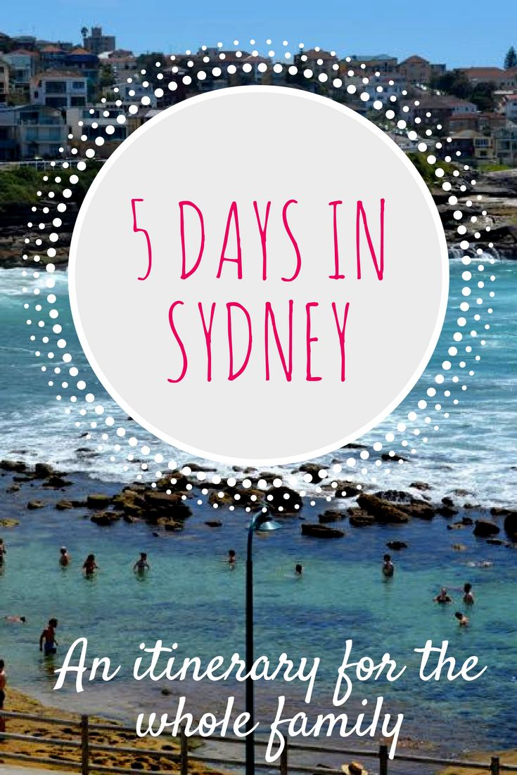 Planning a trip to Sydney, Australia? This local will give you plenty of suggestions on how you can spend 5 days in Sydney with the whole family. Sydney beaches, attractions, and lots more! #itinerary #citytrip