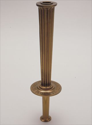 Photo: The torch design for the 1960 Summer Olympic Games