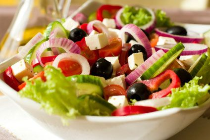 Fresh greek salad -my choice for today