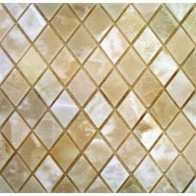 Special Offer Now Rhomboid White Onyx Polished Mosaics