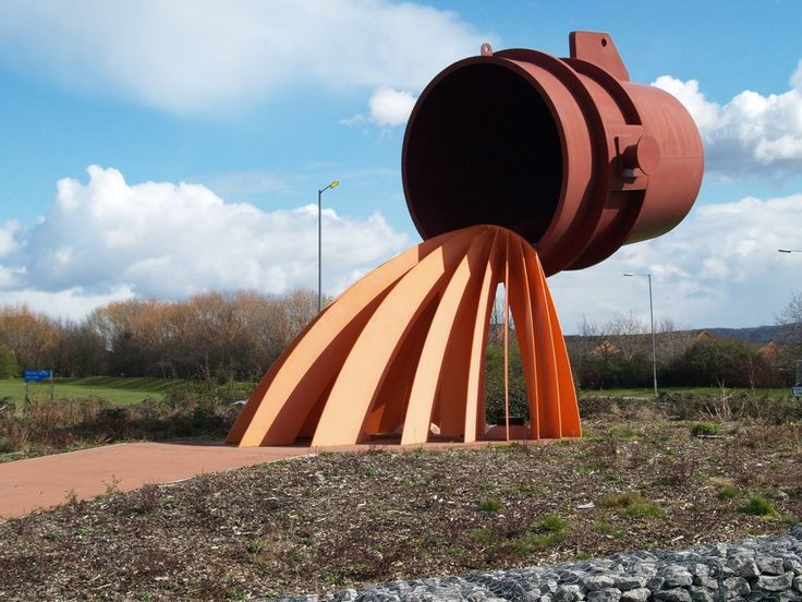Sculpture on the A66 roundabout