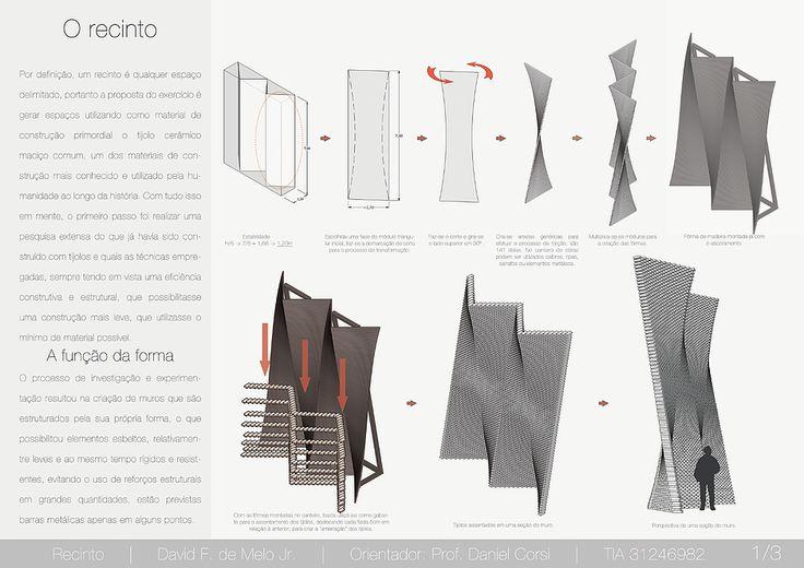 Portfolio de Arquitetura - David Melo | Projeto V - O Recinto / Muro