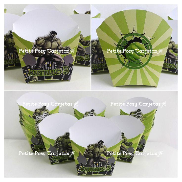 Envases para Golosinas - Pochocleras - Hulk
