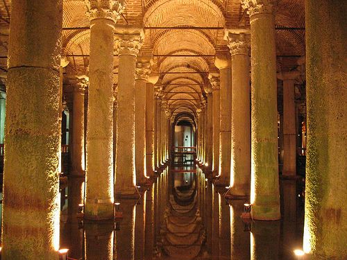 untitled - photo by: Procsilas Moscas, this photo is of one of the cisterns lying beneath the old cities.  don't know which, found with Wylio.com