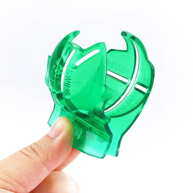 Мяч для гольфа Клип Линия Лайнер Маркер Маркс Шаблон Alignment Tool Гольфа Спида Зеленый Цвет