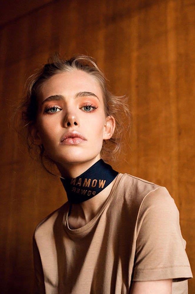 DLMAU - ania milczarczyk  Orange blush eyeshadow  Simple   Day