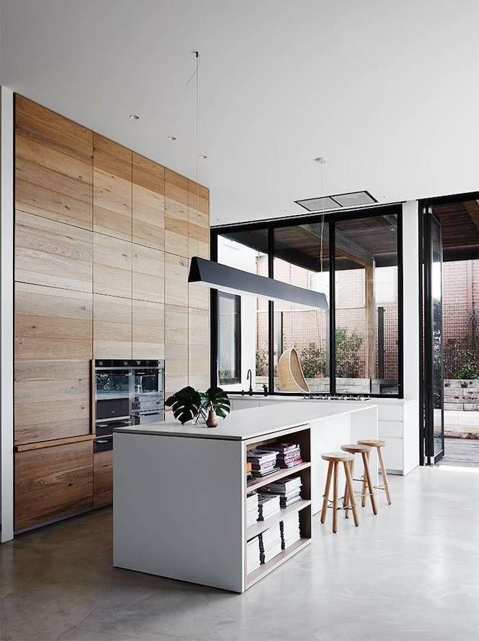 ... wood&white op Pinterest - Houten kasten, Ontwerp en Kleine keukens