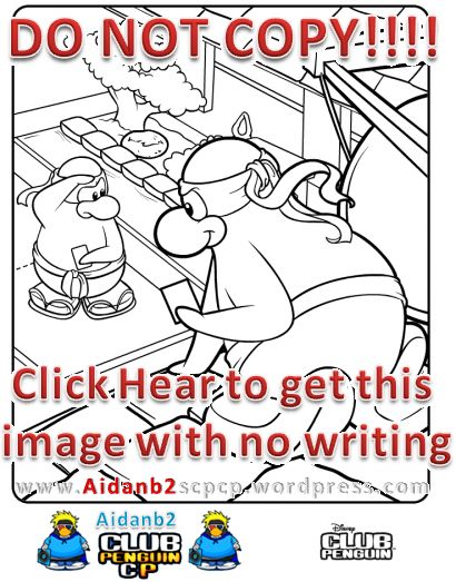 65 best Club Penguin Coloring Pages Ninja images on Pinterest ...