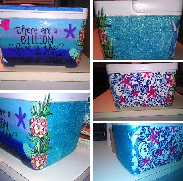 Love the Lilly side maybe with a quote and the pineapples on the edge!
