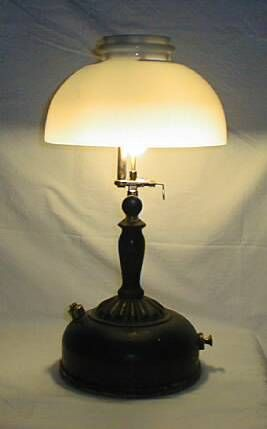 Table Lamp Glass Shade 1