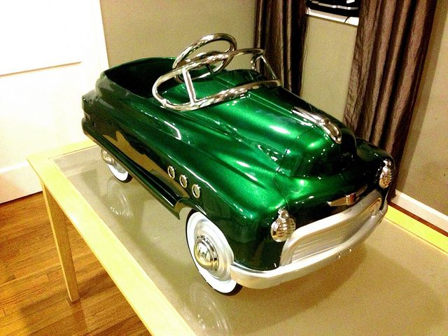 Murray Comet - Pedal Car Replica by Kenchy, via Flickr   WE had this in Mint green