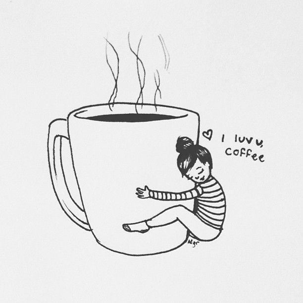 I luv u coffee