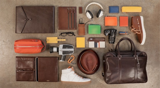 Portrait of a man who lives in a wired world, neatly organized for Coach by Things Organized Neatly.