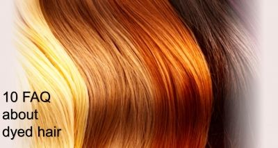 10 FAQ about dyed hair on http://www.bluorange.it/en/not-only-beauty/how-to-take-care-of-dyed-hair-10-faq-about-coloured-hair #hair #dyedhair #beauty #cosmetics #bloggingtips #bluorange