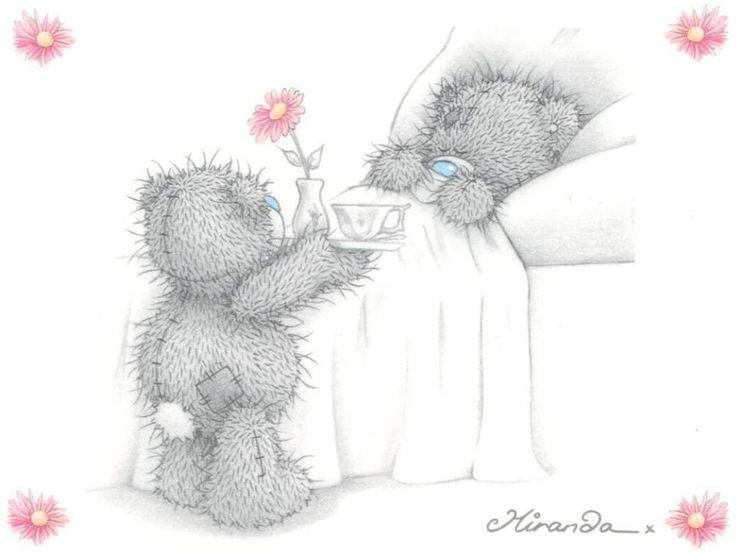 Покровом, открытки с добрым утром с мишкой тедди