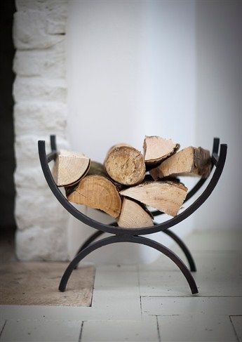 Iron Log Holder perfect for our small hours