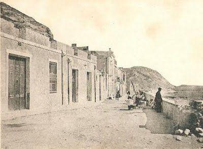 Playa del Postiguet y Raval Roig Inicios de 1900