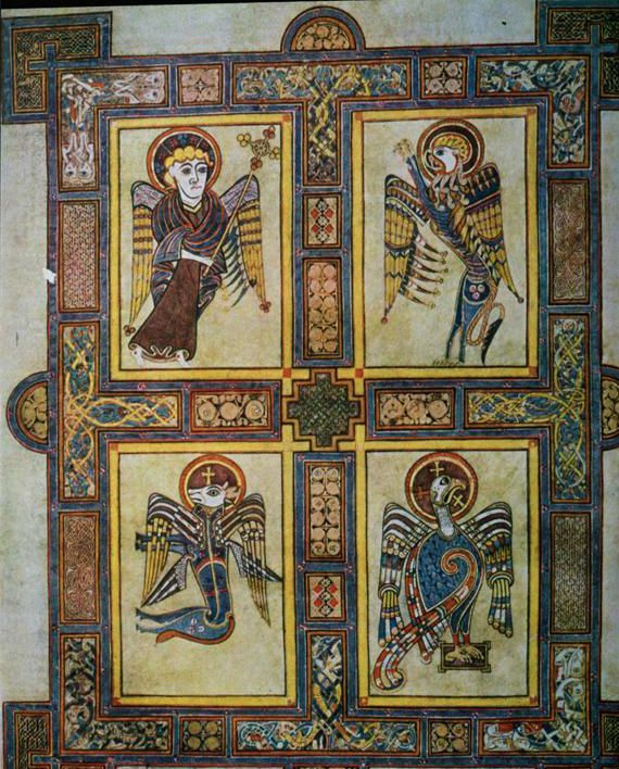 Front Cover Book of Kells | Art History 1300 > Ambrose > Flashcards > Midterm 2 (Images ...