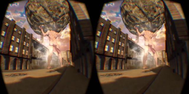 Lucca 2016 - L'Attacco dei Giganti in mostra, la realtà virtuale della Battaglia di Trost - Sw Tweens