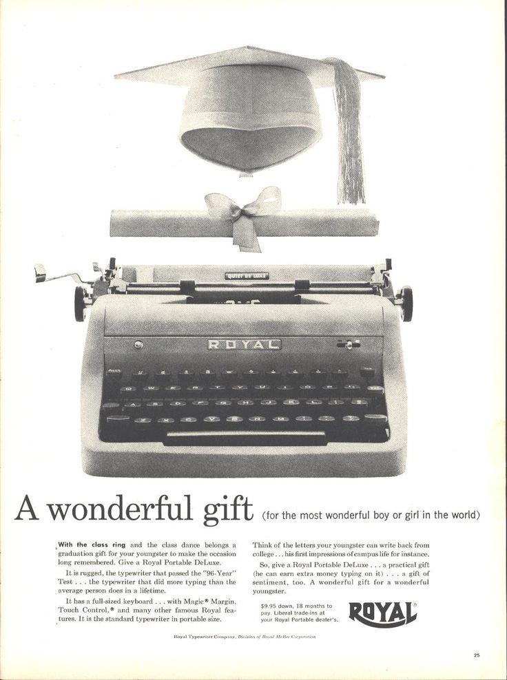 Royal Typewriter Page LIFE May 16 1955