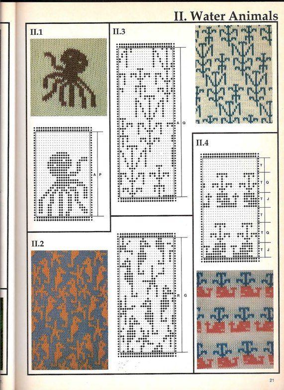 Машинное вязание - жаккард #20