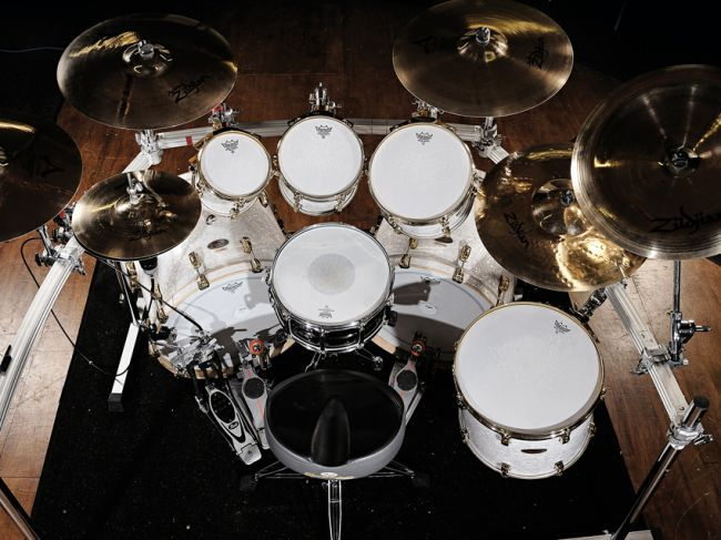 Drum kits of the pros: stars' live and studio drum setups in pictures | MusicRadar