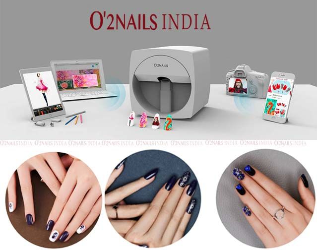 Get Fashion Nails Style With Ful Digital Nail Art Printing Machine By O2nails India O2nailsindia Digitalnailprinter Mobilenailprinter Nailprinter