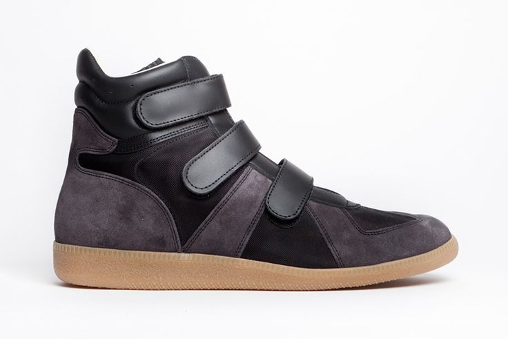 Leather and Fabric Sneakers with Transparent Covering Fall/winter Maison Martin Margiela Factory Outlet Cheap Online Discount Shopping Online NJnQe9r