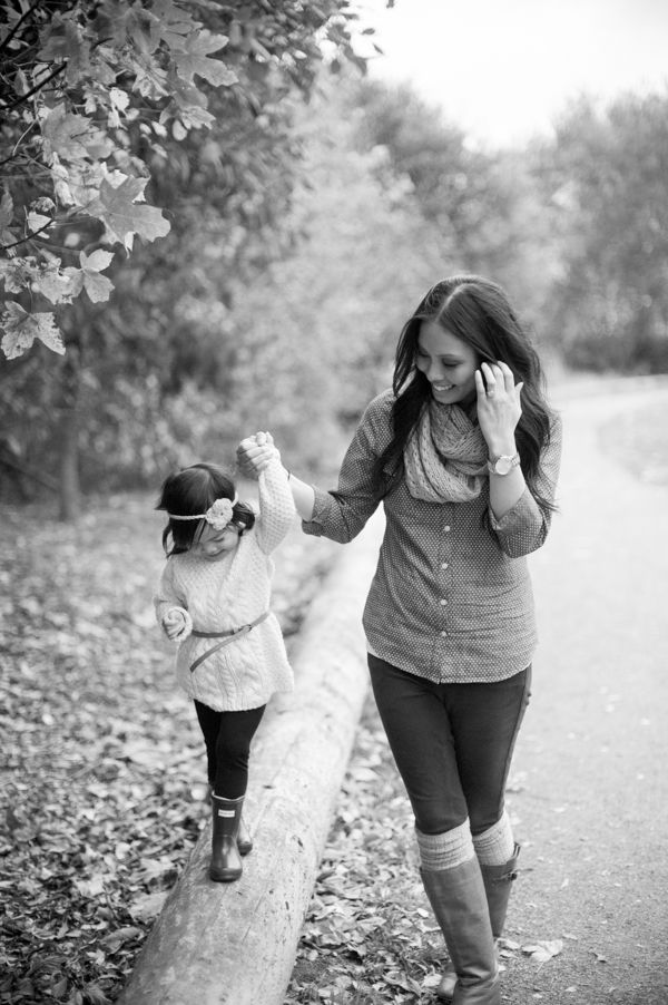 mother daughter fall pictures - Google Search