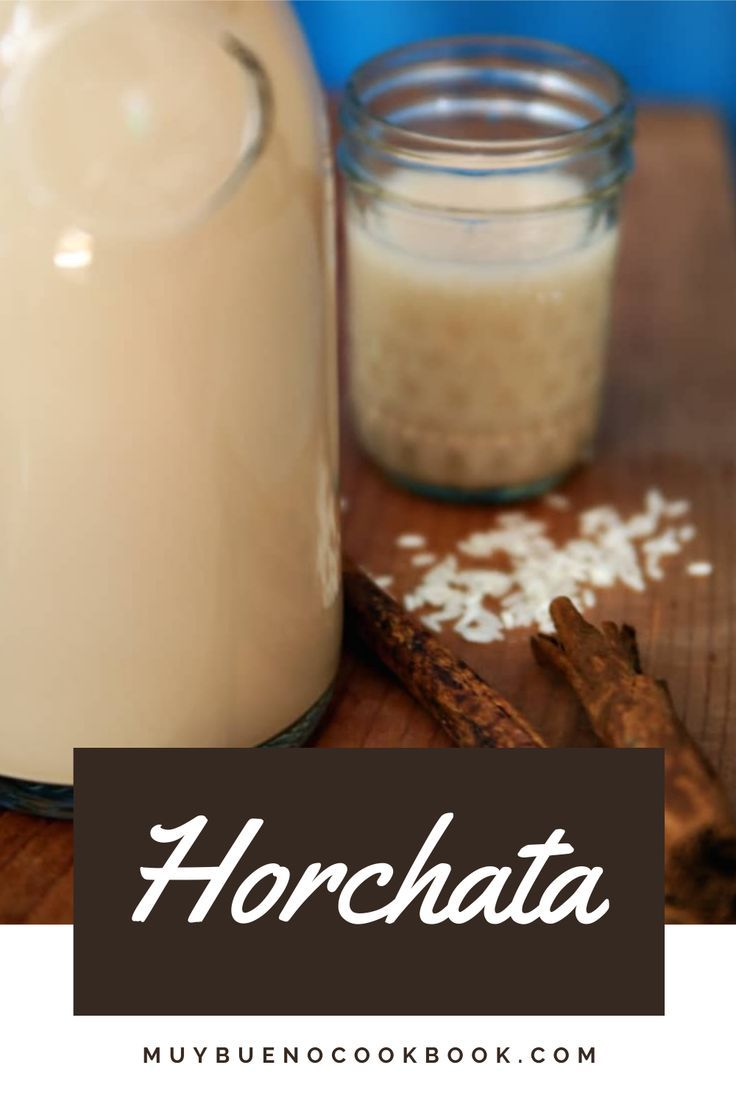 Horchata Muy Bueno Cookbook In 2020 Horchata Homemade Horchata Cinnamon Drink