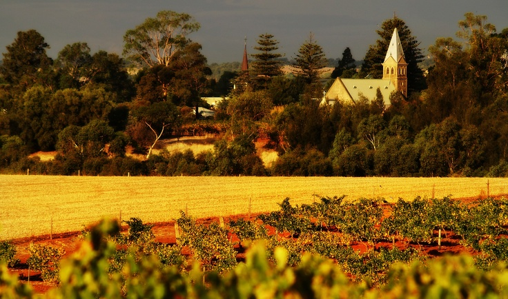 Lutheran Church, Tanunda. Barossa Valley, South Australia. Image © Dragan Radocaj Photography.