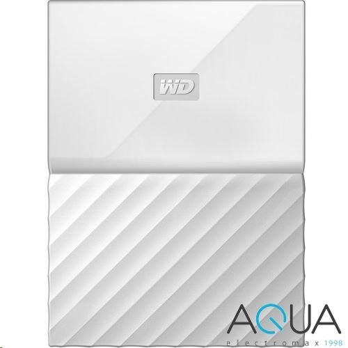 1TB WD 2.5' My Passport külső winchester fehér /WDBYNN0010BWT/