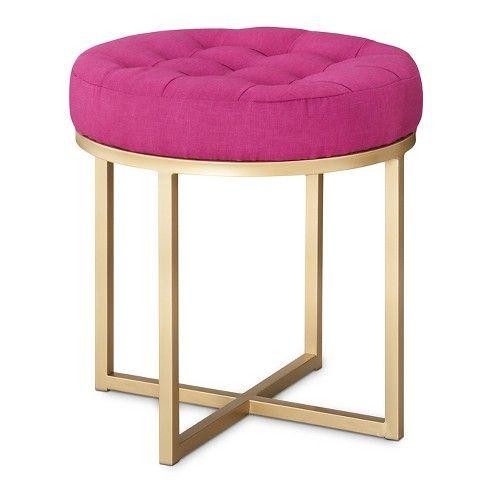 Threshold™ Button Tufted Ottoman - Pink - 25+ Best Ideas About Pink Ottoman  On - Pink Ottoman Cymun Designs