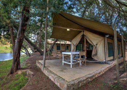 Oewerzicht, Greyton. Safari tents, camping, self catering