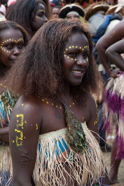 Solomon Island woman