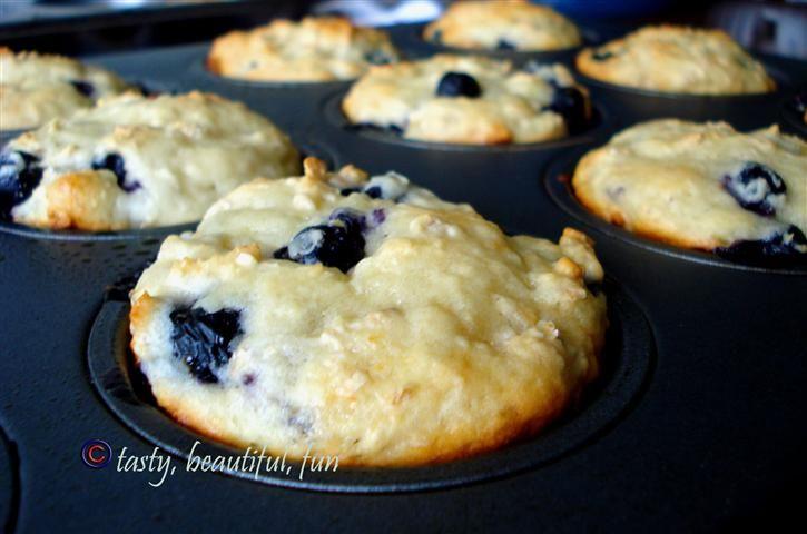POWER muffins: blueberry+oatmeal+yogurt=POWER | Domesticated Academic