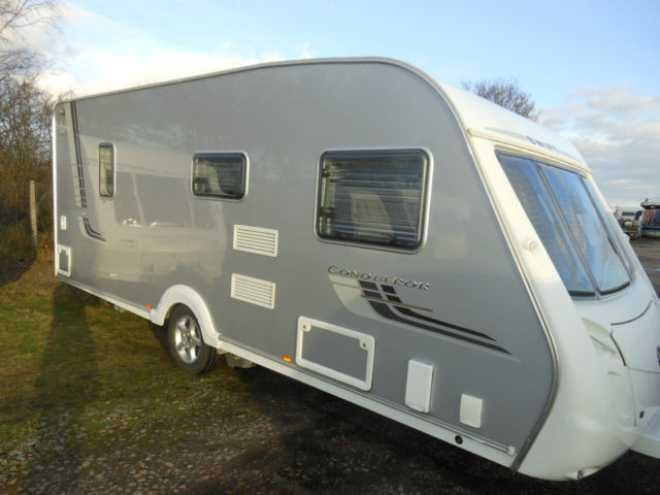 Swift Conqueror 540, 4 berth, (2008) Second Hand  Touring caravan for sale in Melrose