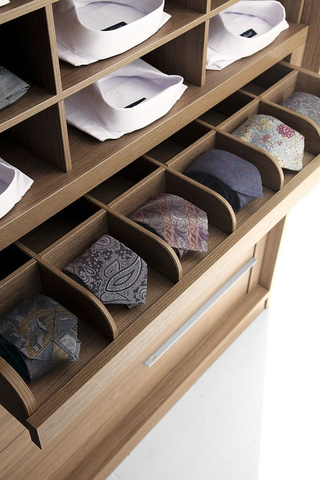 A perfect way to organize your ties