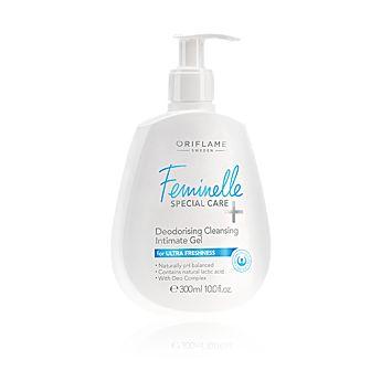 Deodorační mycí gel pro intimní hygienu Feminelle