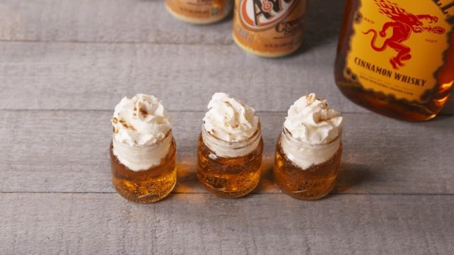 Cinnamon Roll Fireball Shots Are the Sweetest Way to Get the Party Started - WomansDay.com