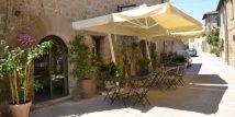 Osteria del Borgo - Mensano (Siena) - very informal, traditional tuscan dishes